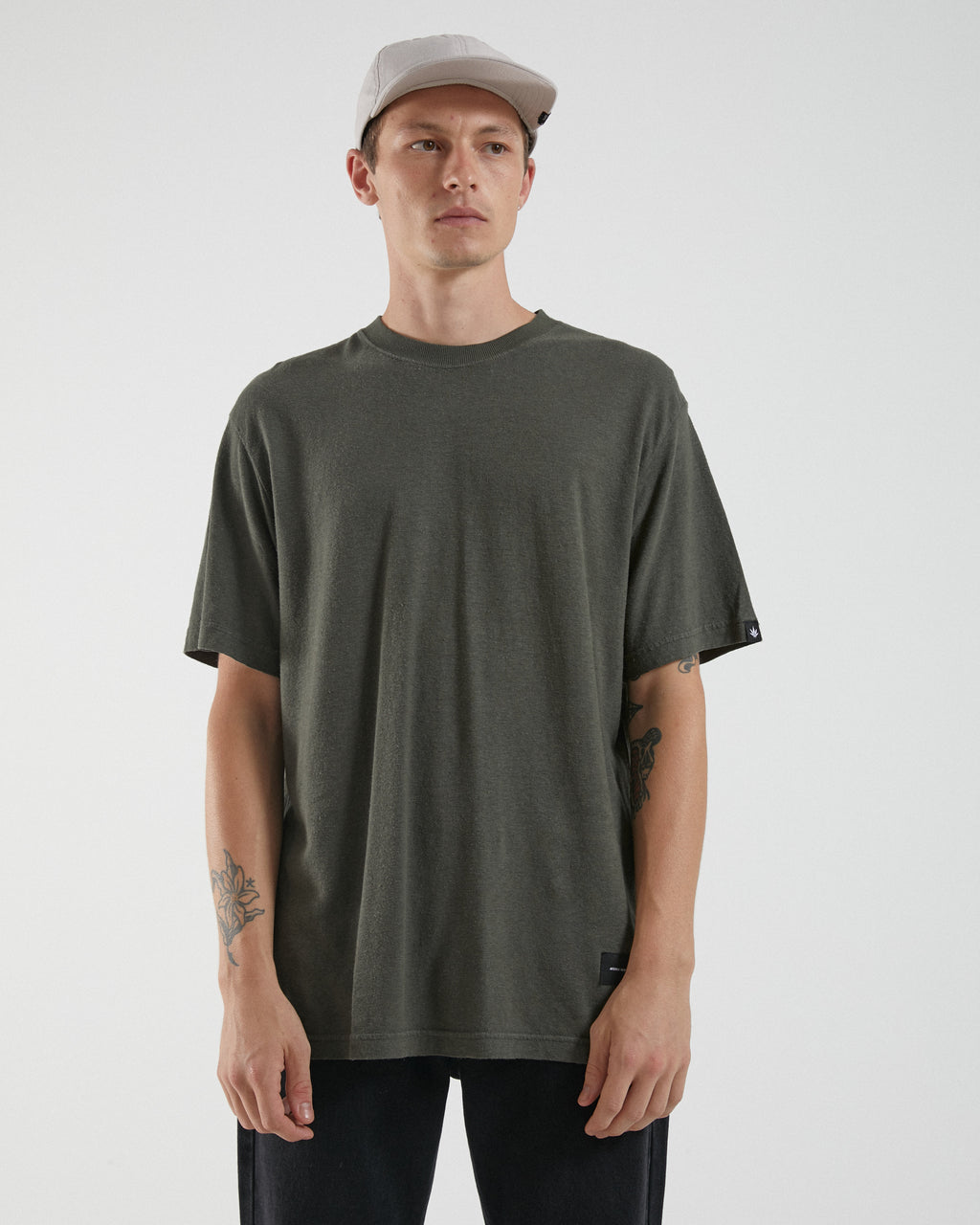 Afends Mens Classic Hemp Retro SS Tee
