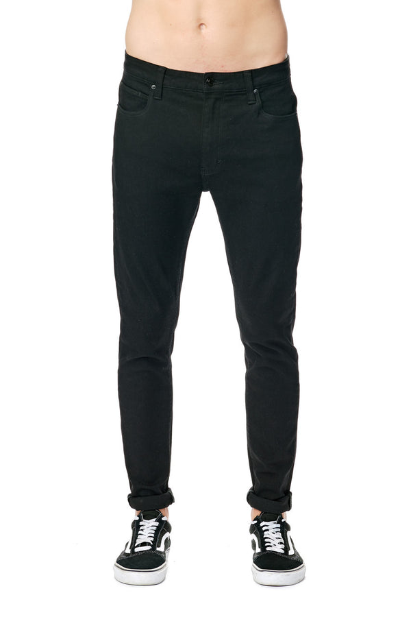 Abrand Mens Dropped Skinny Jeans - Front