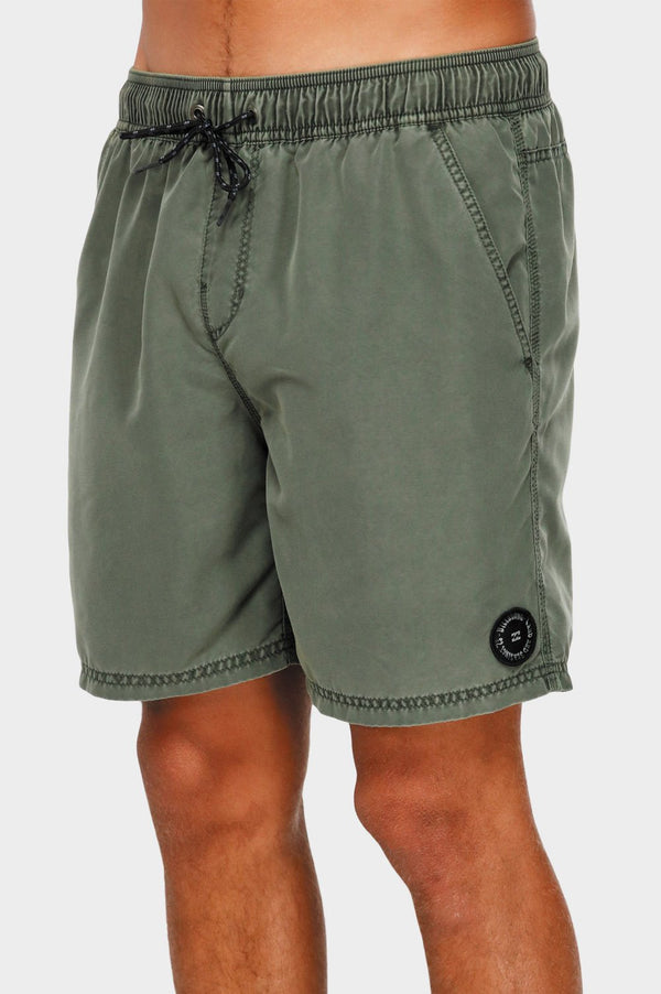 Billabong Mens All Day Overdye Layback Boardshorts - Side
