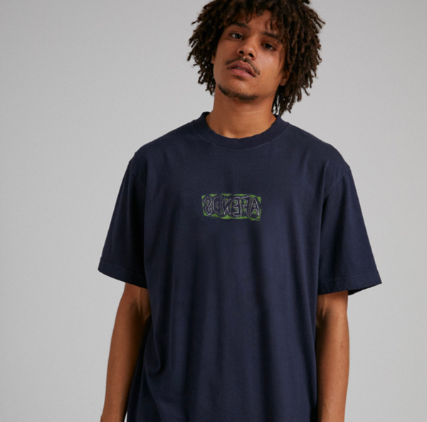 Afends Mens Welcome Retro SS Tee