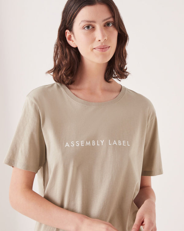 Assembly Label Ladies Logo SS Tee