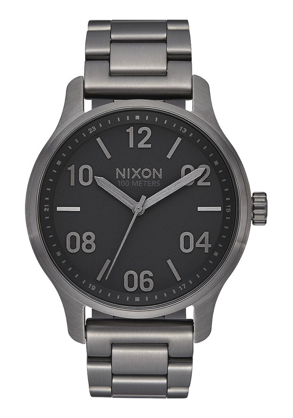 Nixon Patrol Watch - Gunmetal/Black