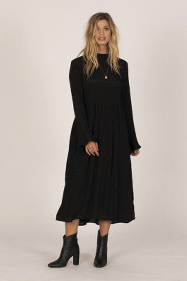 Amuse Society Ladies Lia LS Dress - Front