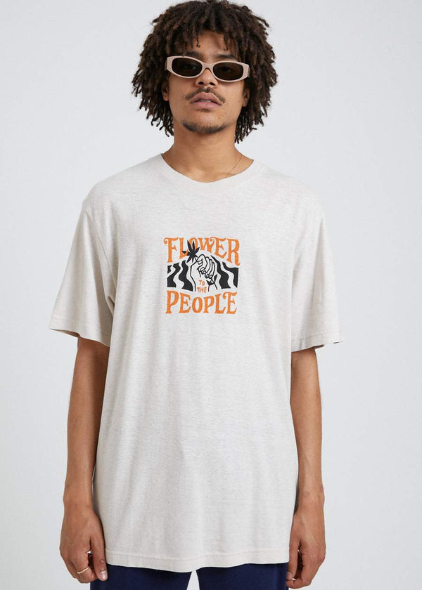 Afends Mens Power Plant SS Tee