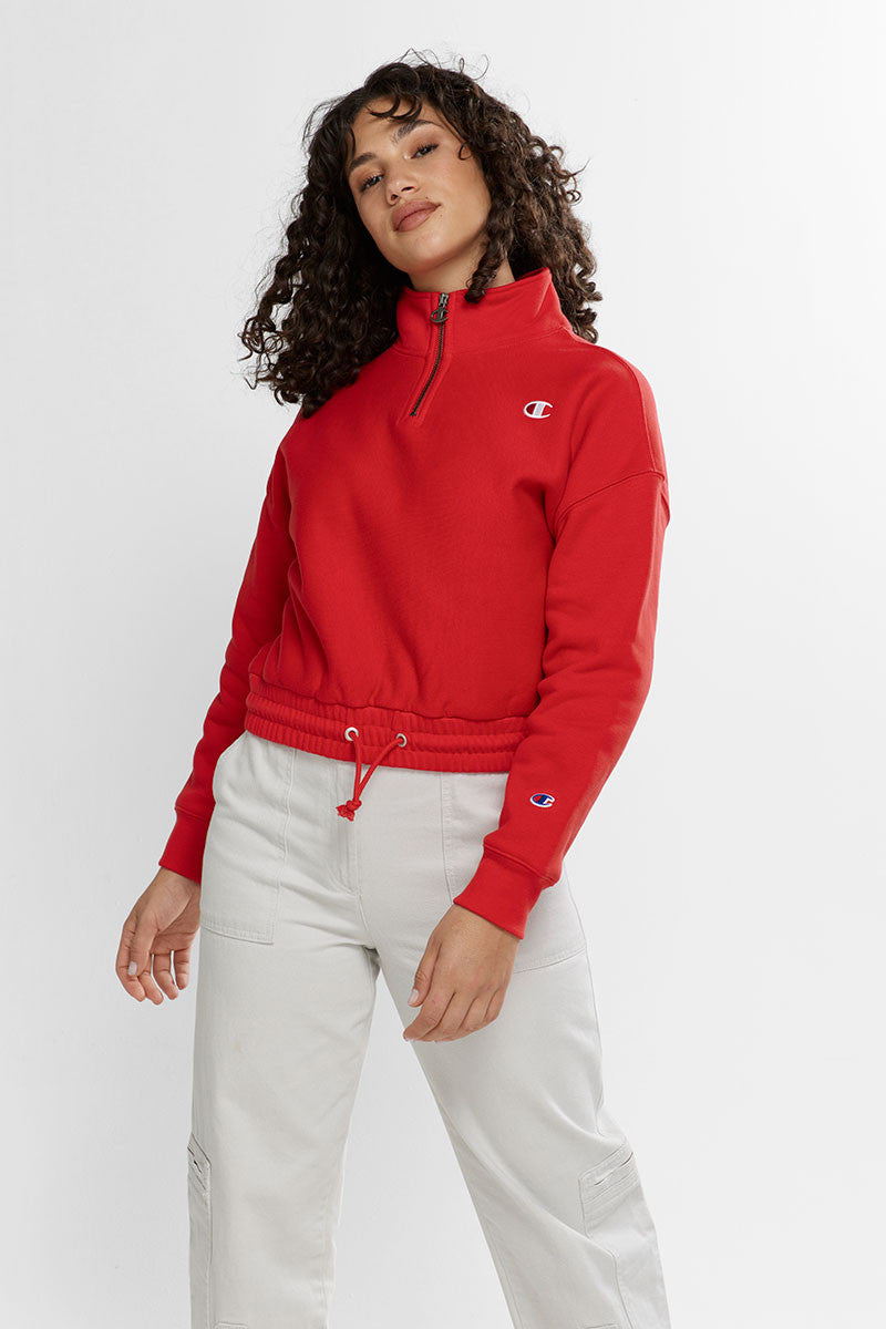 Champion Ladies Reverse Weave QTR Zip