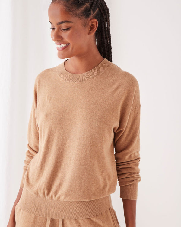 Assembly Label Ladies Cotton Cashmere Lounge Sweater