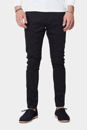 Dr Denim Mens Heywood Chinos- Black
