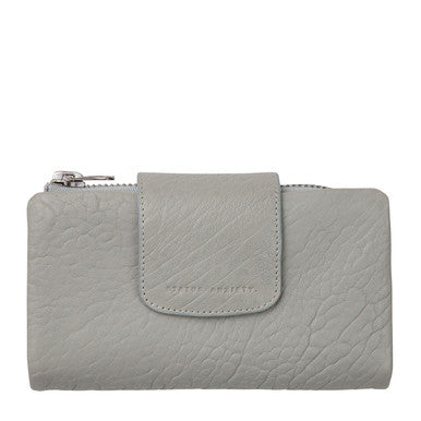 Status Anxiety Womens Fallen Wallet- Light Grey