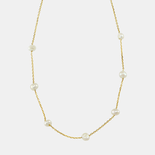 Jolie & Deen Fresh Water Pearl Necklace - Front