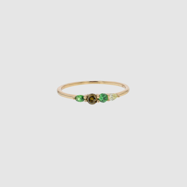 Jolie & Deen Crystal Ring - Front