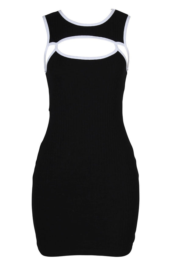 Twiin Ladies Diverse Mini Dress - Front