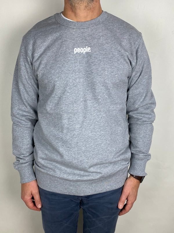 People Mens Premium Logo Crew