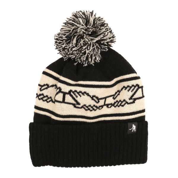 Pass~Port Inter Solid Pom Pom Beanie