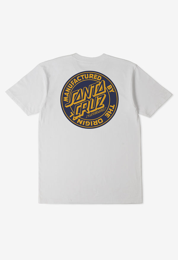 Santa Cruz Boys MFG Dot SS Tee