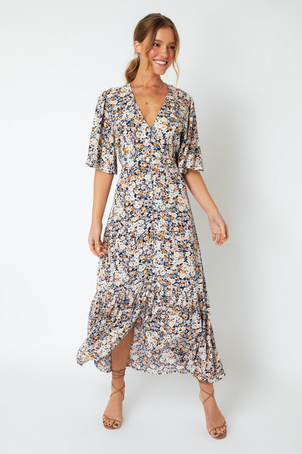 Mink Pink Ladies Samaria Sun Midi Dress