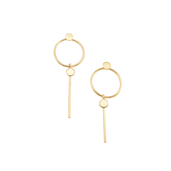 Jolie & Deen Miranda Earrings - Front