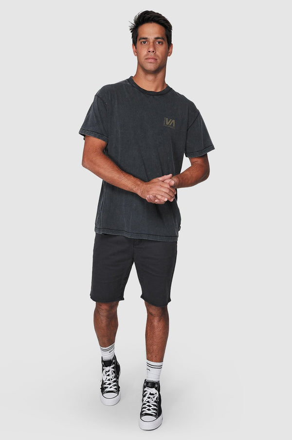 RVCA Mens Balanced SS Tee - Front