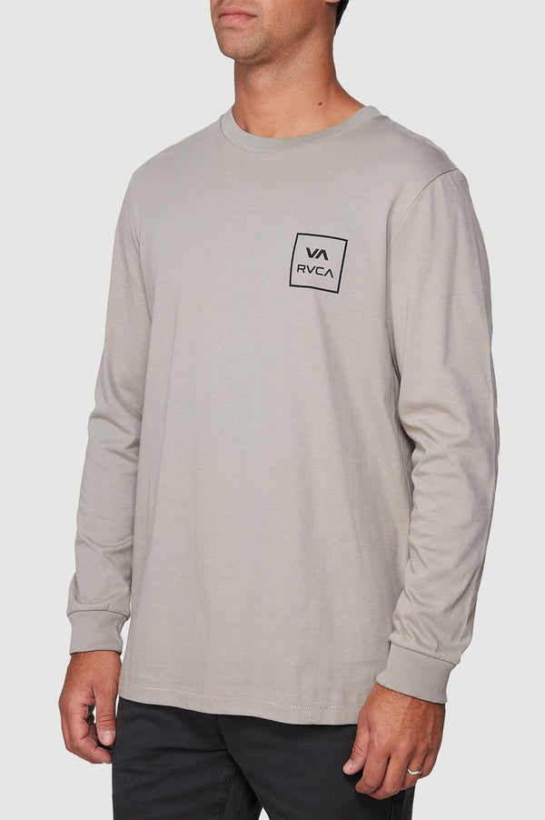 RVCA Mens VA All The Way LS Tee - Side