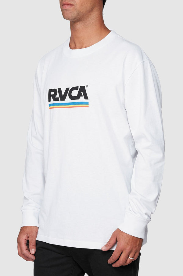 RVCA Mens Attacker LS Tee - Side