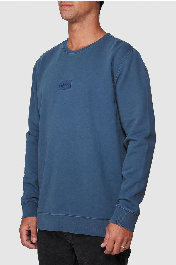 RVCA Mens Focus Cosy Crew - Side