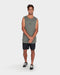 RVCA Mens Pyramid Muscle Tee