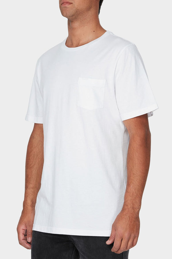 RVCA Mens Pigment Fade SS Tee - Side
