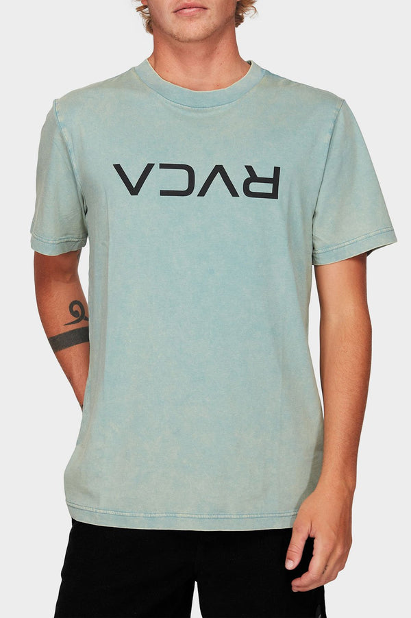 RVCA Mens Flipped SS Tee - Front