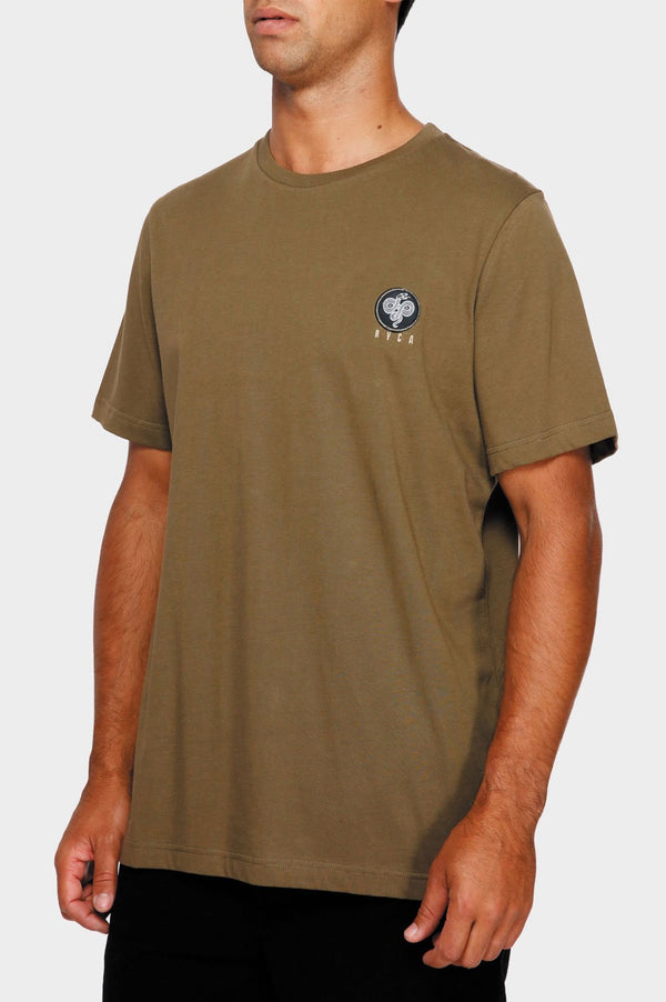RVCA Mens Serpent SS Tee - Left