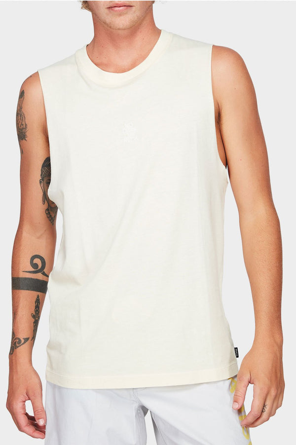 RVCA Mens Paradiso Muscle Tee - Front