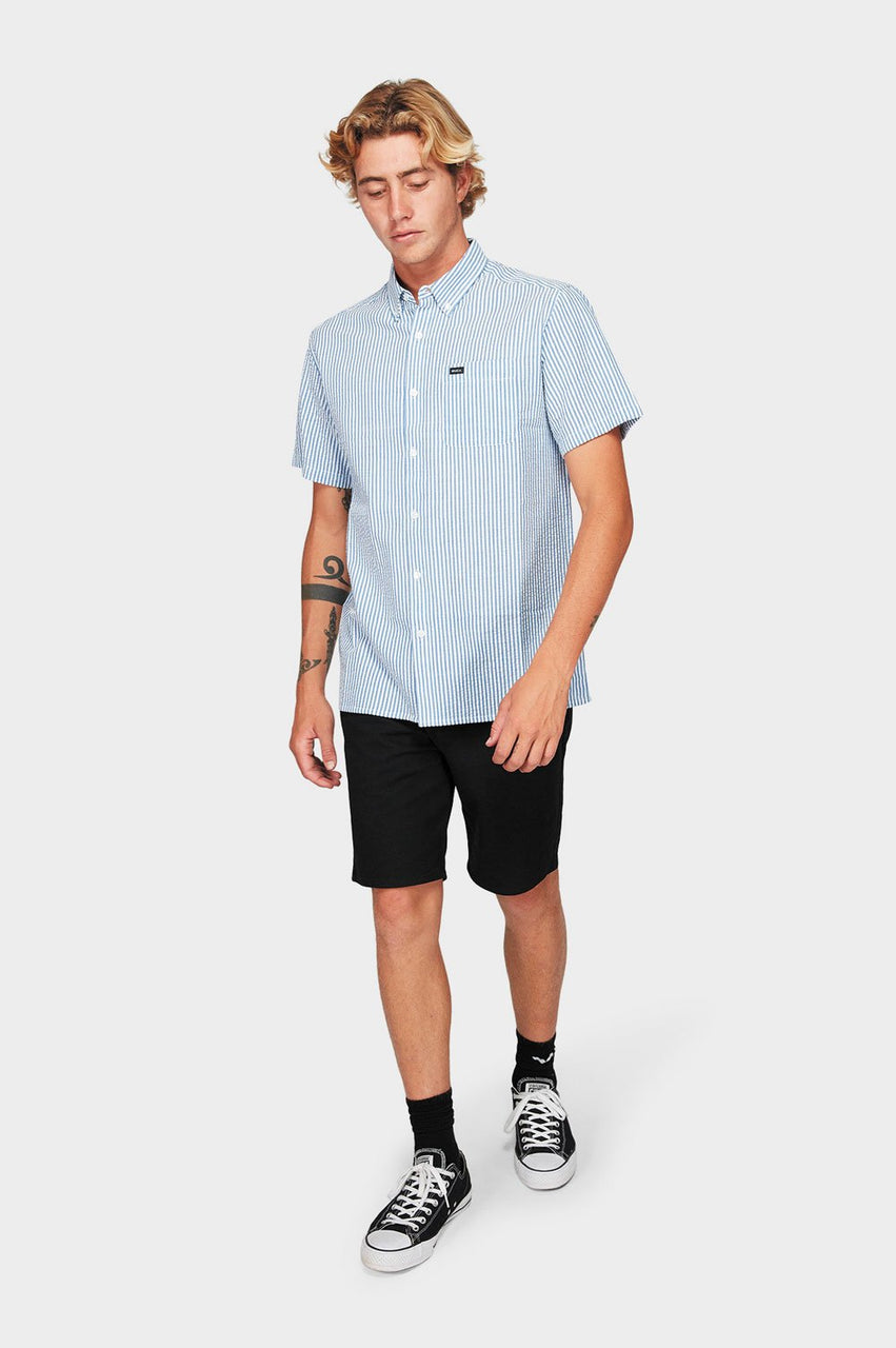 RVCA Mens Mother Sucker SS Shirt - Full