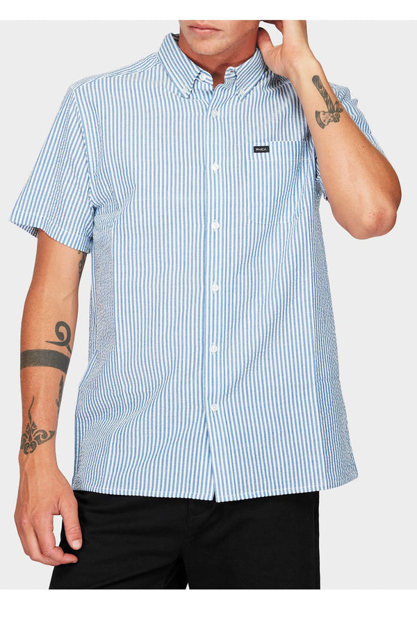 RVCA Mens Mother Sucker SS Shirt - Front
