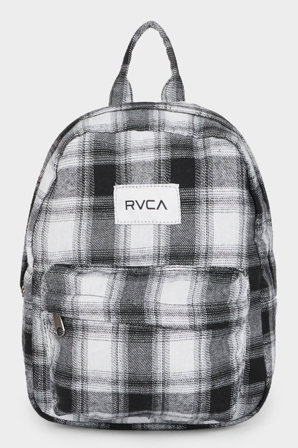 RVCA Ladies Focus Patch Mini Backpack - Front