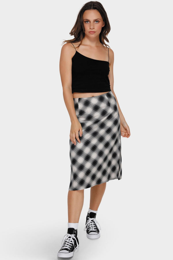 RVCA Ladies Unbiased Skirt - Front