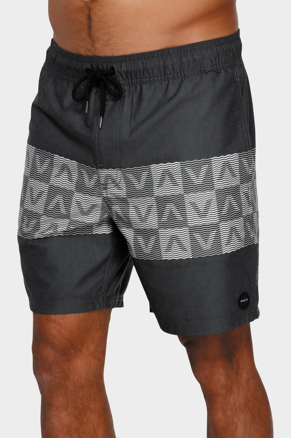 RVCA Mens Out There Elastic Shorts - Front