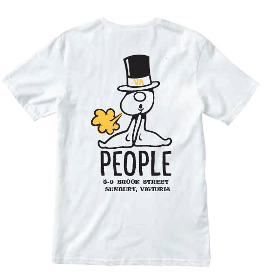 RVCA Mr People SS Tee