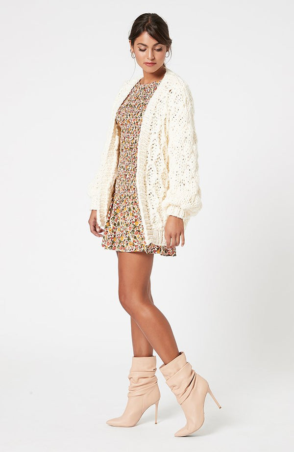 Mink Pink Ladies Marielle Chunky Cardigan