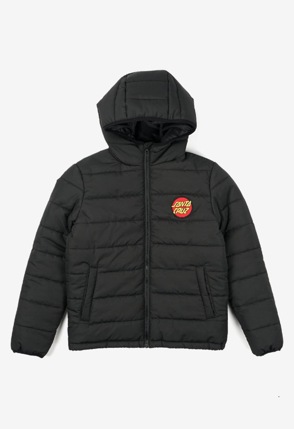 Santa Cruz Boys Elm Puffa Jacket