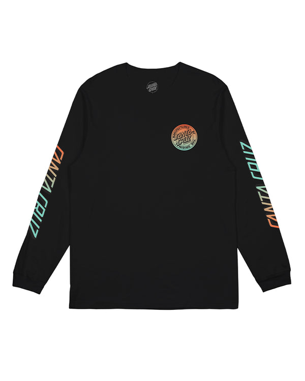 Santa Cruz Youth Original Dot Fade LS Tee