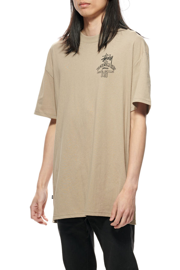 Stussy Mens Jamaica World Tribe SS Tee