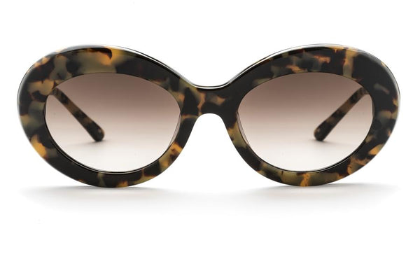 Sunday Somewhere Kurt Sunnies- Marble Tort/Gold/Brown