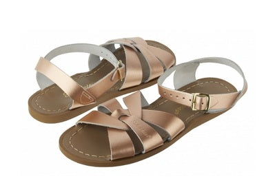 Salt Water Womens Originals Sandals- Rose Gold