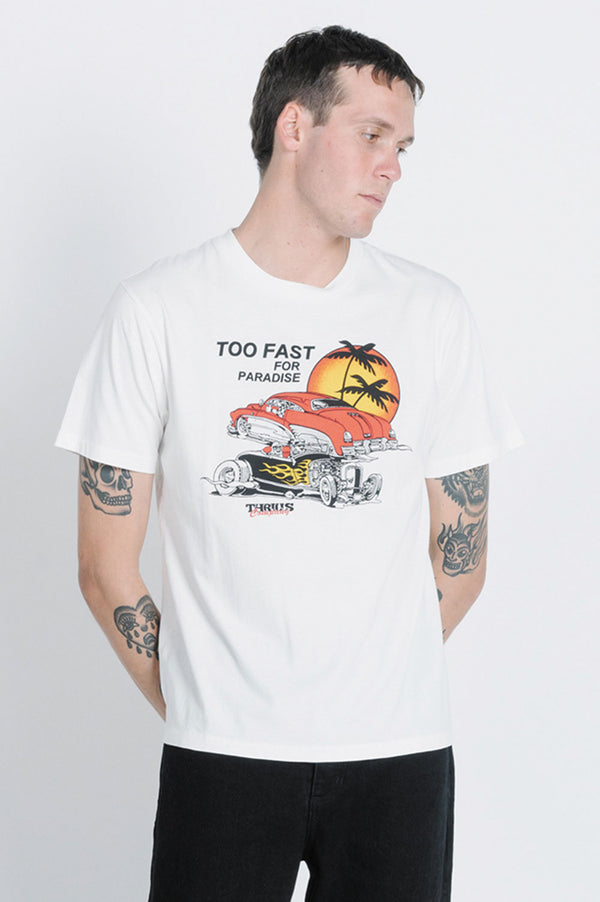 Thrills Mens Too Fast Merch SS Tee - Front