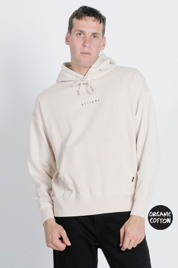 Thrills Mens Minimal Slouch Pull On Hood - Front
