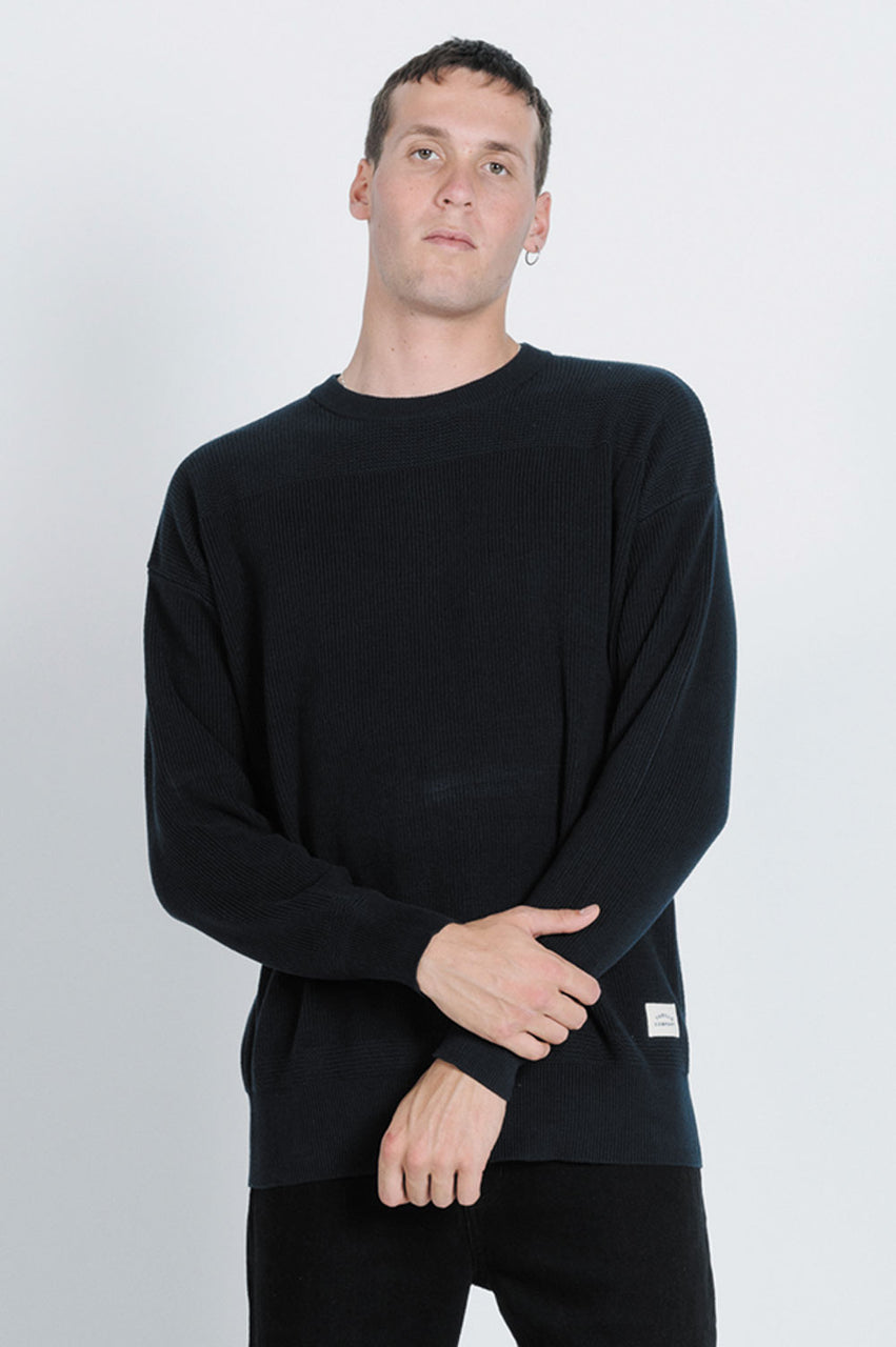 Thrills Mens Arch Crew Knit - Front