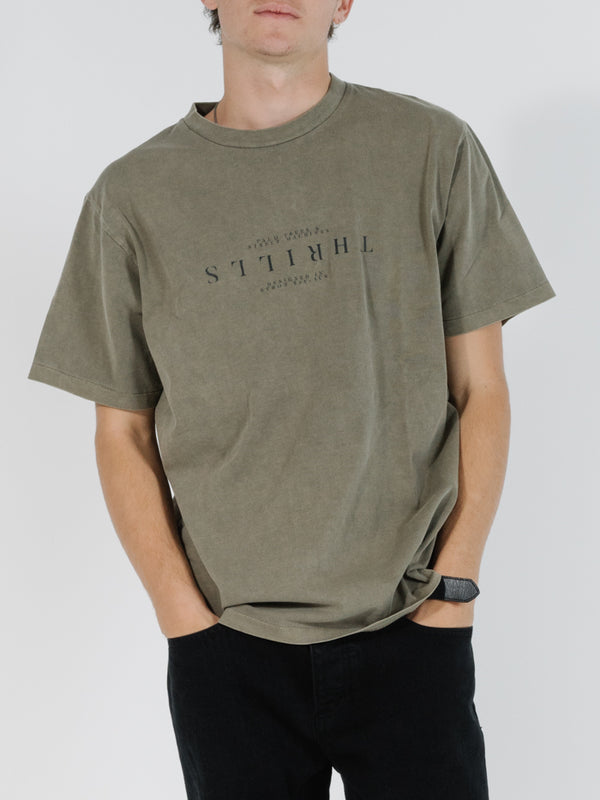 Thrills Mens Far East & Beyond Merch Fit SS Tee