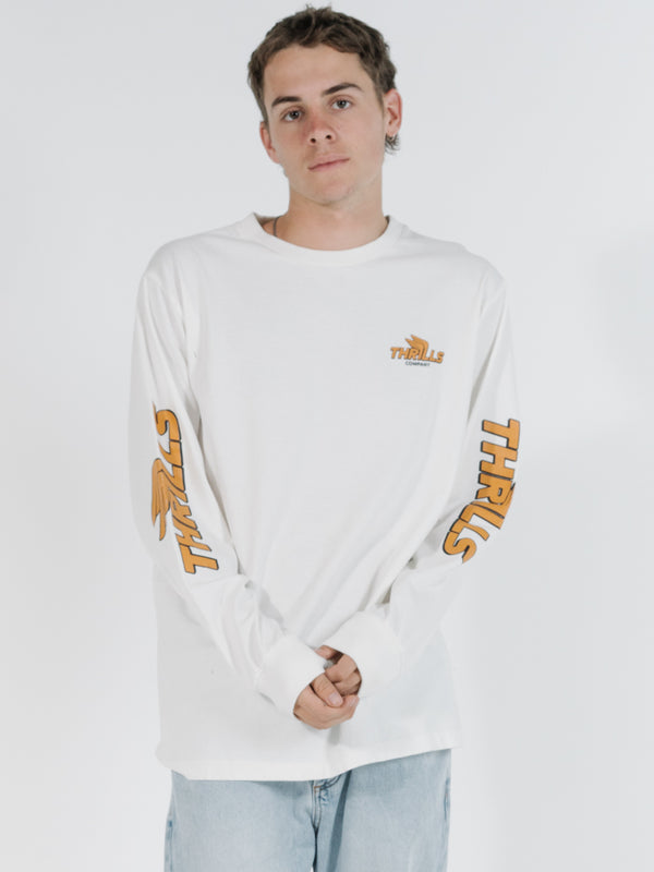 Thrills Burner Merch Fit LS Tee