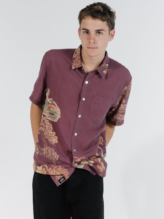 Thrills Mens Facet SS Shirt