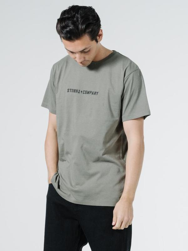 Thrills Mens Formation Merch Fit SS Tee