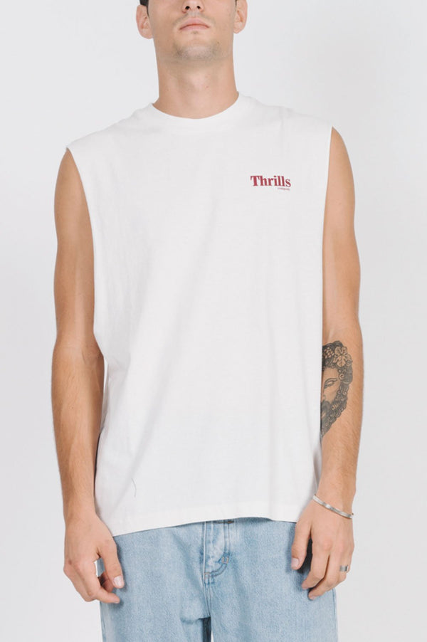 Thrills Mens Cycles & Cloth Merch Fit Muscle - Front