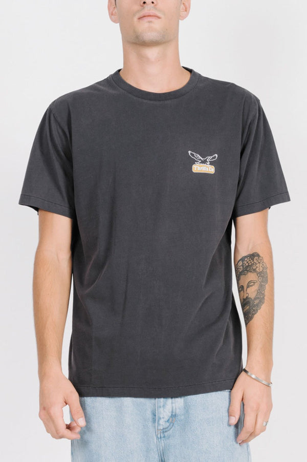 Thrills Mens Landed Merch Fit SS Tee - Front